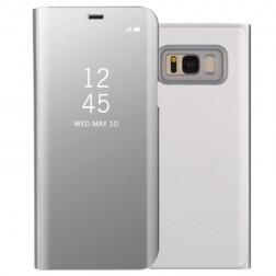 Plastmasas atvērams maciņš - sudrabs (Galaxy S8)