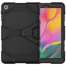 Pastiprinātas aizsardzības apvalks - melns (Galaxy Tab A 10.1 2019)