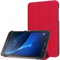 Atvēramais maciņš - sarkans (Galaxy Tab A 7.0 2016)