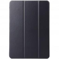 Atvēramais ādas maciņš - melns (Galaxy Tab A 9.7)