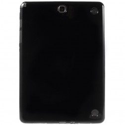 Cieta silikona (TPU) apvalks - melns (Galaxy Tab A 9.7)