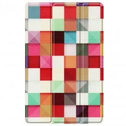 """Cubes"" atvēramais maciņš (Galaxy Tab A7 10.4 2020)"