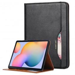 """Comma"" atvēramais futrālis - melns (Galaxy Tab A7 Lite 8.7)"