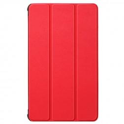 Atvēramais maciņš - sarkans (Galaxy Tab A7 Lite 8.7)
