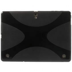 Cieta silikona (TPU) apvalks - melns (Galaxy Tab S 10.5)