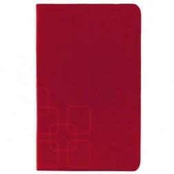 """""""Squares"""" atvēramais futrālis - sarkans (Galaxy Tab S 8.4)"""