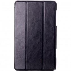 Atvēramais ādas maciņš - melns (Galaxy Tab S 8.4)