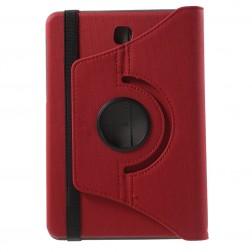 Atvēramais maciņš (360°) - sarkans (Galaxy Tab S2 8.0)