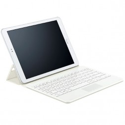 """Samsung"" BT Keyboard Cover bezvadu tastatūra - maciņš, smilšains (Galaxy Tab S2 9.7 / Galaxy Tab S2 VE 9.7)"