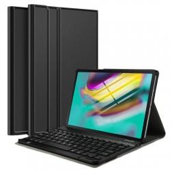 Atvēramais futrālis ar tastatūra - melns (Galaxy Tab S5e)