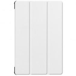 Atvēramais maciņš - balts (Galaxy Tab S6 10.5)