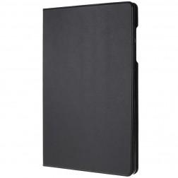 Solīds atvēramais maciņš - melns (Galaxy Tab S6 10.5)