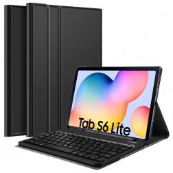 Atvēramais futrālis ar tastatūra - melns (Galaxy Tab S6 Lite 10.4)