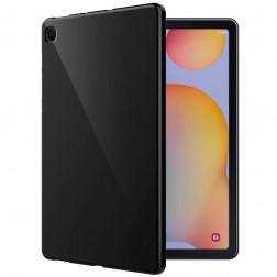 Cieta silikona (TPU) apvalks - melns (Galaxy Tab S6 Lite 10.4)