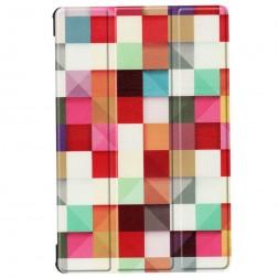 """""""Cubes"""" atvēramais maciņš (Galaxy Tab S6 10.5)"""