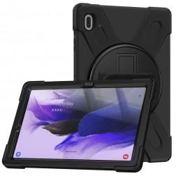 """Pastiprinātas aizsardzības (360°) apvalks - melns (Galaxy Tab S7 FE 12.4"""")"""