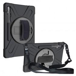 """Pastiprinātas aizsardzības apvalks - melns (Galaxy Tab S7+ 12.4"""")"""
