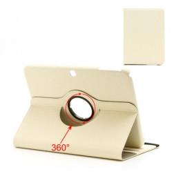 Klasiskais 360° atvēramais futrālis - smilšu krāsā (Tab 3 10.1)