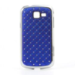 Elegants futrālis - tumši zils (Galaxy Trend II)