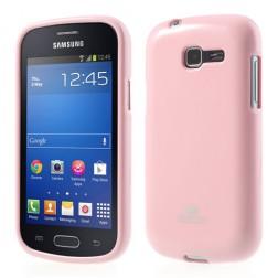 """Mercury"" apvalks - gaiši rozs (Galaxy Trend Lite)"