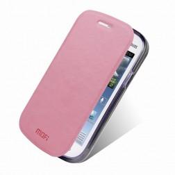 """""""Mofi"""" Rui atvērams maciņš - rozs (Galaxy Trend Lite)"""