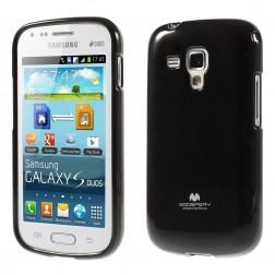 """Mercury"" apvalks - melns (Galaxy S Duos / S Duos 2 / Trend / Trend Plus)"