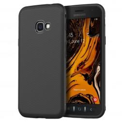"""""""Jazz"""" cieta silikona (TPU) apvalks - melns (Galaxy Xcover 4 / 4S)"""