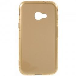 Cieta silikona (TPU) apvalks - zelta (Galaxy Xcover 4 / 4S)