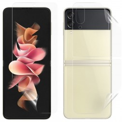 """""""Imak"""" Hydrogel aizsargplēves ekrānam un aizmugurējai daļai (pilnīgi aizsedzama) - dzidras (Galaxy Z Flip3)"""