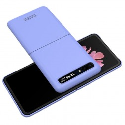"""GKK"" Creative plastmasas apvalks - violets (Galaxy Z Flip)"
