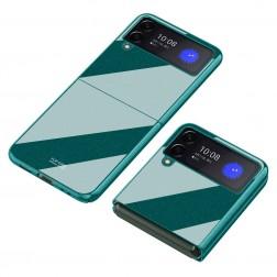 """Piano"" Design plastmasas apvalks - zaļš (Galaxy Z Flip3)"