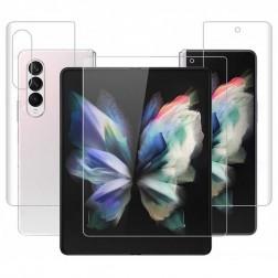 """""""Imak"""" Hydrogel aizsargplēves ekrānam un aizmugurējai daļai (pilnīgi aizsedzama) - dzidras (Galaxy Z Fold3)"""