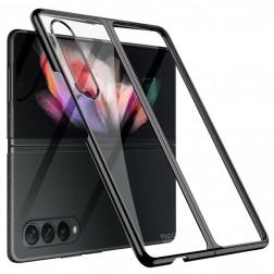 """GKK"" plastmasas dzidrs apvalks - melns (Galaxy Z Fold3)"