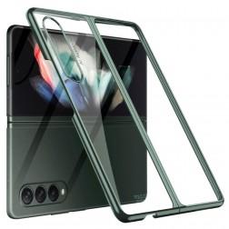 """GKK"" plastmasas dzidrs apvalks - zaļš (Galaxy Z Fold3)"
