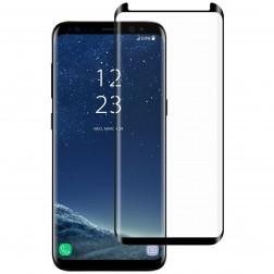 """Mocolo"" Tempered Glass ekrāna aizsargstikls 0.26 mm - melns (Galaxy S8)"