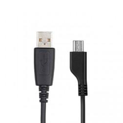 """""""Samsung"""" origināls micro USB vads - melns (0,75 m.)"""