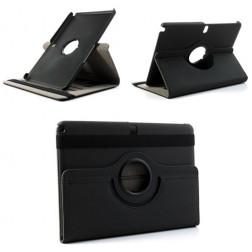 Atvēramais 360° futrālis, maciņš - melns (Note 10.1 2014)