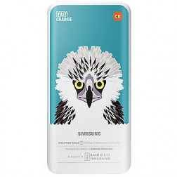 """Samsung"" Animal Edition ārējais akumulators - zaļš (5200 mAh)"