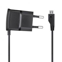"""""""Samsung"""" sienas lādētājs ar micro USB vadu - melns (0.7 A)"""