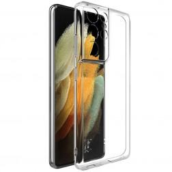 """""""Imak"""" cieta silikona (TPU) apvalks - dzidrs (Galaxy S21 Ultra)"""