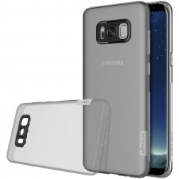 """""""Nillkin"""" Nature TPU dzidrs apvalks - pelēks (Galaxy S8)"""