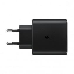 """Samsung"" Super Fast Charging 2.0 tīkla lādētājs (45W) - melns + USB Type-C vads"