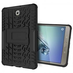 Pastiprinātas aizsardzības apvalks - melns (Galaxy Tab S2 8.0)