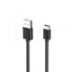 """""""Samsung"""" USB Type-C vads - melns (1,5 m.)"""
