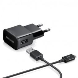 """""""Samsung"""" sienas lādētājs (2 A) - melns + micro USB vads"""