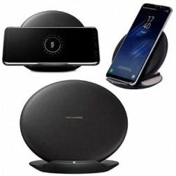 """""""Samsung"""" Fast Charge melns bezvadu lādētājs - statīvs"""