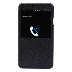 """""""Rock"""" Excel atvēramais maciņš - melns (Galaxy Note 3)"""
