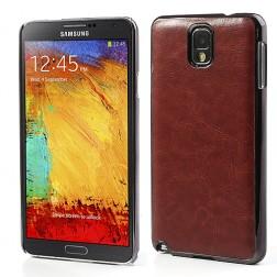 """""""Crazy Horse"""" futrālis - brūns (Galaxy Note 3)"""