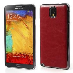 """""""Crazy Horse"""" futrālis - sarkans (Galaxy Note 3)"""