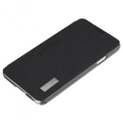 """""""ROCK"""" Elegant atvēramais futrālis - melns (Galaxy Note 3)"""